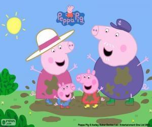puzzle di peppa pig